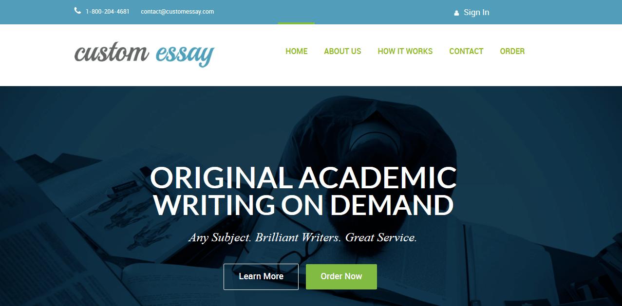 i custom essay